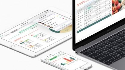 Numbers gibt es für MacOS und iOS.