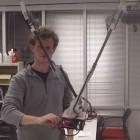 Robotik: Tarzan-Roboter schwingt über die Felder