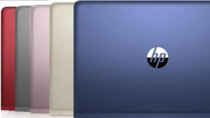 Das HP Pavilion wird in verschiedenen Farben angeboten.