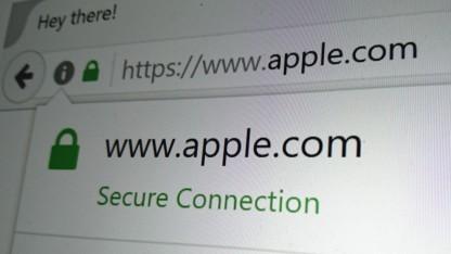 Das ist nicht Apple.com.