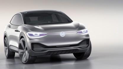 Der Volkswagen I.D. Crozz könnte pWLAN erhalten.