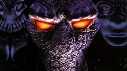 Eines der drei Cover-Artworks von Starcraft (1998)