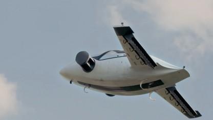 Das Elektroflugzeug von Lilium
