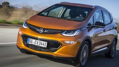 Opel Ampera-E: nur wenige Fahreuzge für Deutschland