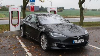 Tesla Model S: weniger als fünf Prozent der Autos betroffen