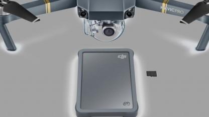 Die Fly Drive im Rugged-Gehäuse soll besonders für Drohneneinsätze geeignet sein.