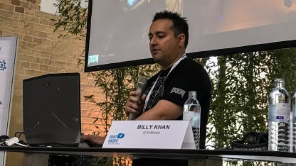 Billy Khan von id Software auf dem Tech Summit von Golem.de