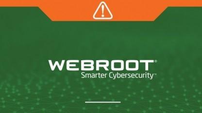 Der Webroot-Scanner hat Probleme gemacht.