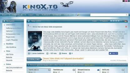 Neues Angebot bei Kinox.to