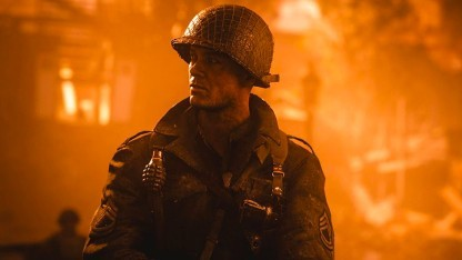Ein Soldat in Call of Duty WW2