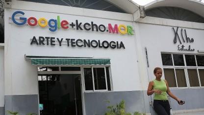 Google als Sponsor in Havanna im März 2016