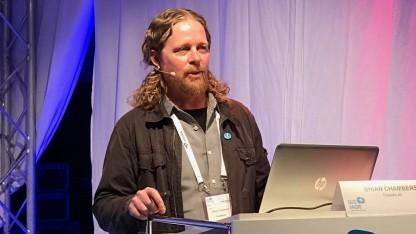 Brian Chambers von Foundry 42 auf der Quo Vadis 17