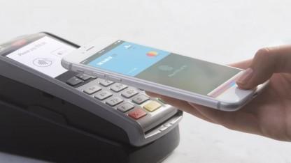 Apple Pay an einem Zahlungsterminal