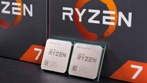 AMDs Ryzen 7 1700X und Ryzen 7 1700 vor der Boxed-Verpackung