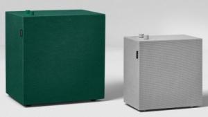 Vernetzte Lautsprecher mit zwei Reglern