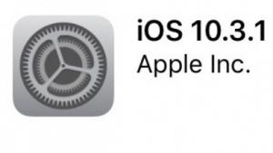 Apples iOS 10.3.1 ist da.