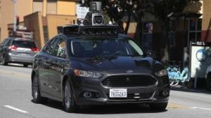 Selbstfahrendes Auto von Uber