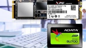 Für M.2 und Sata stellt Adata gleich zwei neue SSDs vor.