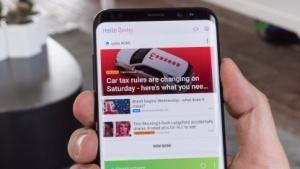 Bixby 1.0 auf einem Galaxy S8+