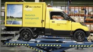 Die Deutsche Post setzt bei ihren Firmenwagen auf Eigenbau.