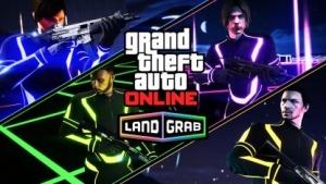 In GTA 5 Online: Land Grab treten bis zu vier Teams gegeneinander an.
