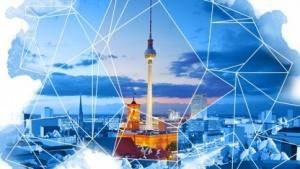 Die Studiogründungs-Grafik von Blue Byte für Berlin