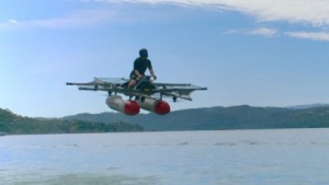 Kitty Hawk Flyer: unterstützt von Larry Page, mitentwickelt von Sebatian Thrun