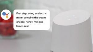 Google Home hilft beim Kochen.