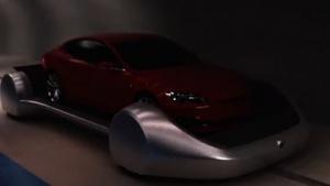 Autos sollen auf Plattformen fahren, die Fahrstühle zu den Tunneln sind.