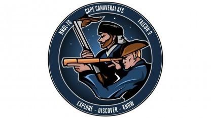 Das offizielle Missionpatch lässt vermuten, dass es ein Spionagesatellit zur Erdbeobachtung ist.