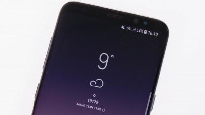 Samsungs Galaxy S8 sollte am besten gar nicht herunterfallen.
