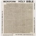 Microfiche: Eigentümerin der Mondbibeln steht endlich fest
