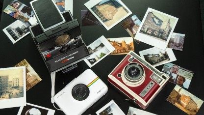 Unsere drei Testkameras mit Aufnahmen