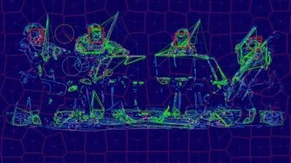 """In seinem Projekt """"Sight Machine"""" ließ Trevor Paglen das Kronos Quartet von künstlichen Intelligenzen analysieren."""