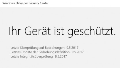 Windows Defender hat eine Sicherheitslücke.