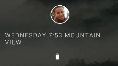 Der Hauptbildschirm von Fuchsias neuer Benutzeroberfläche Armadillo