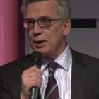 Thomas de Maizière: Die todlangweilige Bewerbungsrede als Internetminister