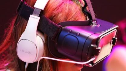 Gear VR auf einer Veranstaltung in New York 2016