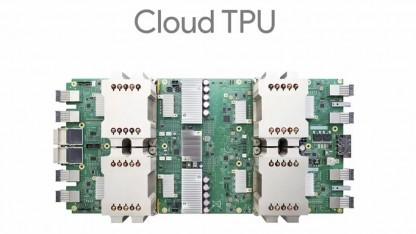 Googles Cloud TPU beschleunigen das Training beim Deep Learning.