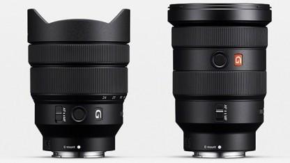 Sony FE 16-35mm F2.8 GM (recht) und Sony FE 12-24mm F4 G (links)