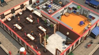 In Pizza Connection 3 entwirft der Spieler eigene Restaurants.