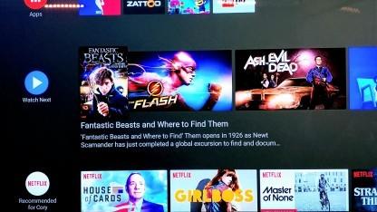 Die neue Benutzeroberfläche von Android TV