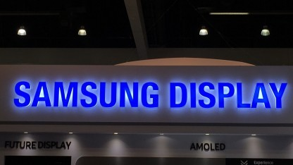 Samsung Display auf der Displayweek 2017
