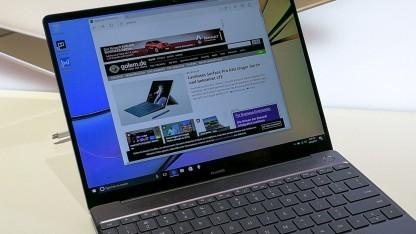 Das Matebook X ist das erste Notebook von Huawei.