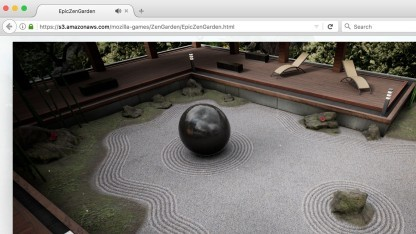 Die Unreal Engine läuft dank Wasm und WebGL 2.0 auch mit komplexen Funktionen im Browser.