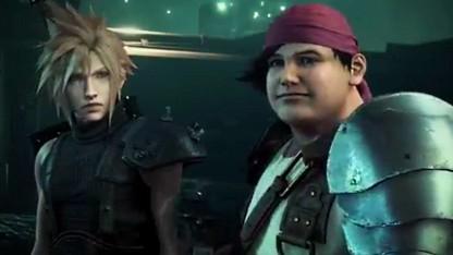 Szene aus dem Ankündigungstrailer von Final Fantasy 7 Remake.