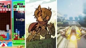 Puyo Puyo Tetris, Wonderboy und Fast RMX