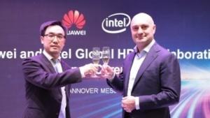 Huawei und Intel kooperieren.