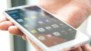 Ein Smartphone mit Apps