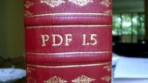 Die PDF-Spezifikation ist so kompliziert, dass sie mehr als tausend Seiten umfasst.